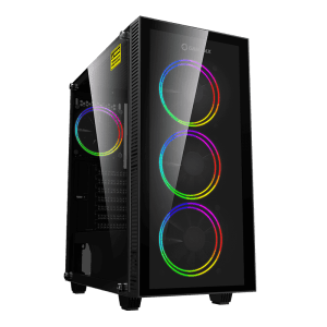 מחשב נייח גיימינג INTEL i7-10700, 16GB, SSD 1TB NVMe, RTX3060, GAMEMAX