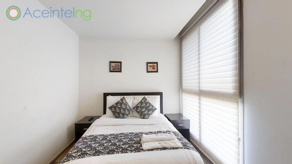 2 bedroom apartment for short let in Eko atlantic city - bedroom 2