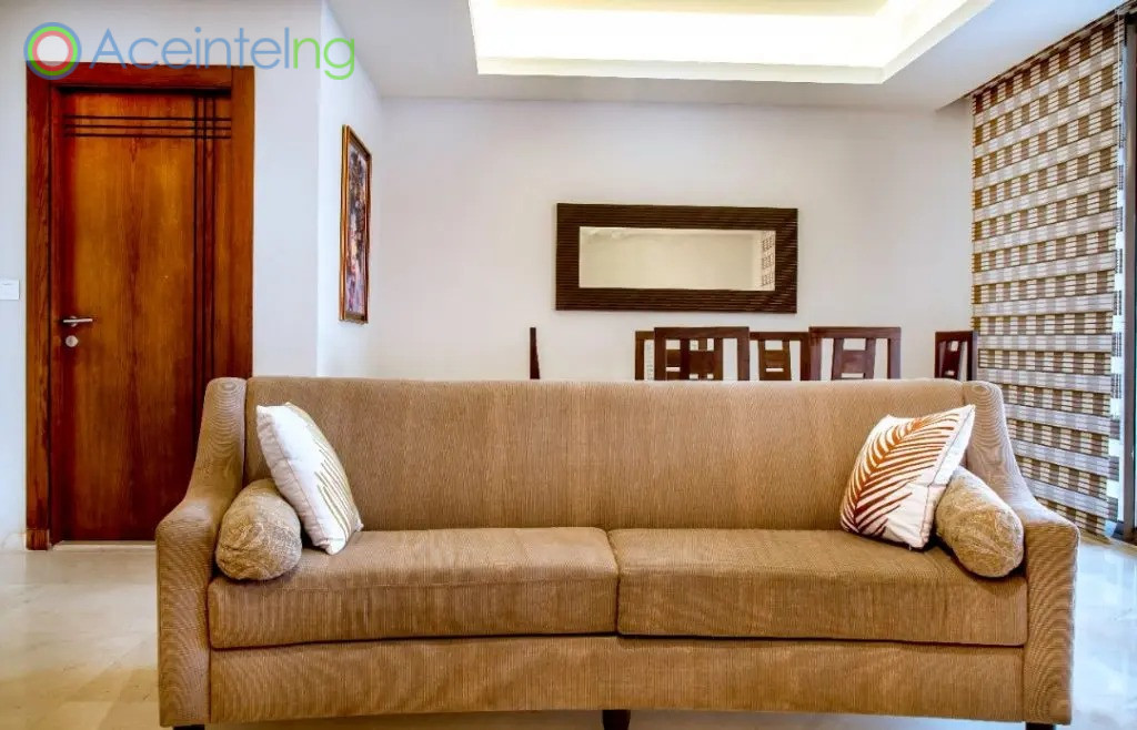 3 bedroom apartment for shortlet in eko atlantic - eko pearl - sofa