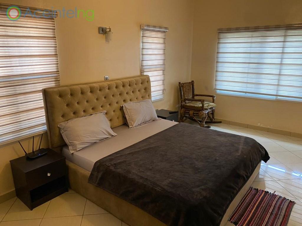 4 bedroom duplex for shortlet in lekki phase 1 lagos - bedroom