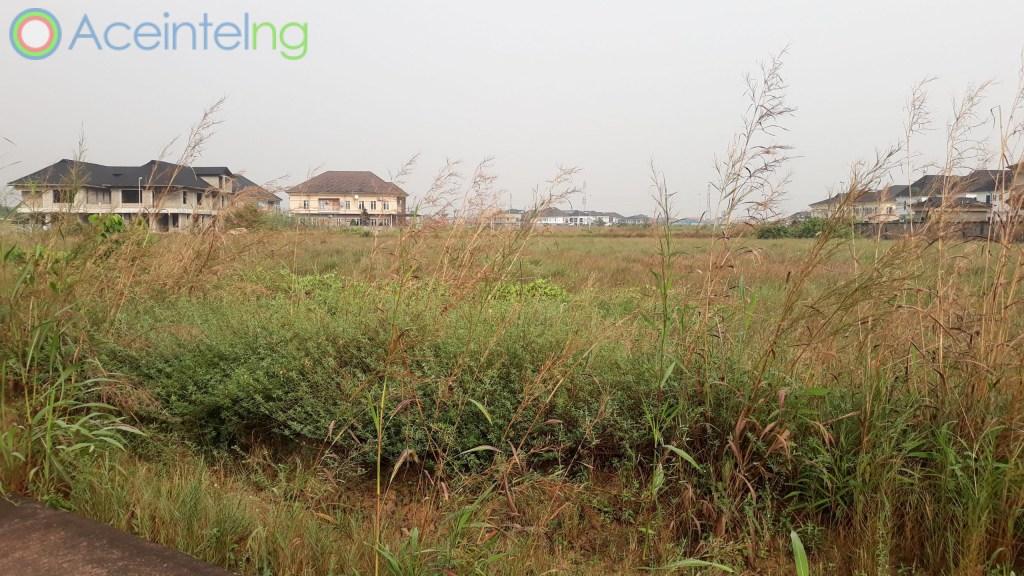 Land for sale in Royal Gardens Estate Ajah Lagos Nigeria