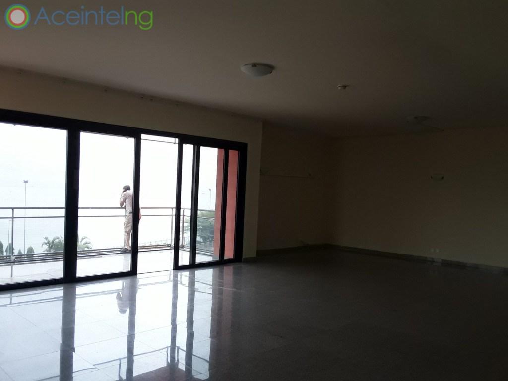 4 bedroom flat for rent in Ocean Parade Banana Island Ikoyi Lagos (water front) - living area