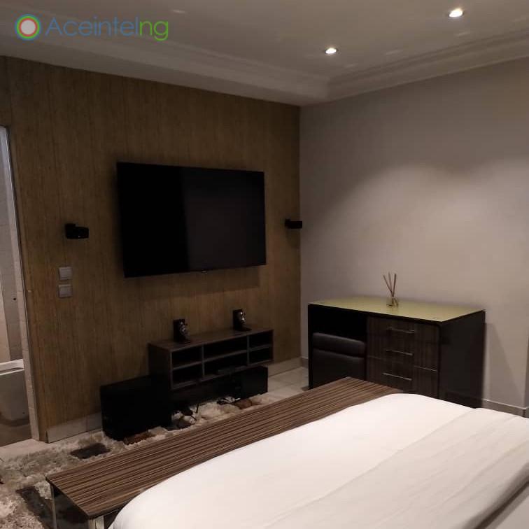 3 bedroom flat for short let in 1004 VI - bedroom 2