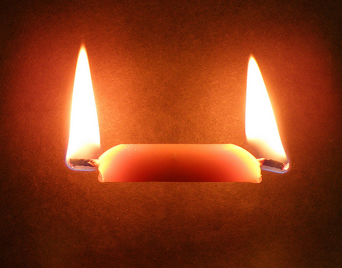 Image result for candle burning at both ends
