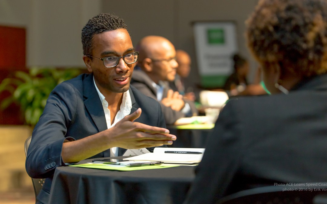 ACE's Speed Coaching Event Helps Educate Entrepreneurs  of Financial Solutions to Grow a Business