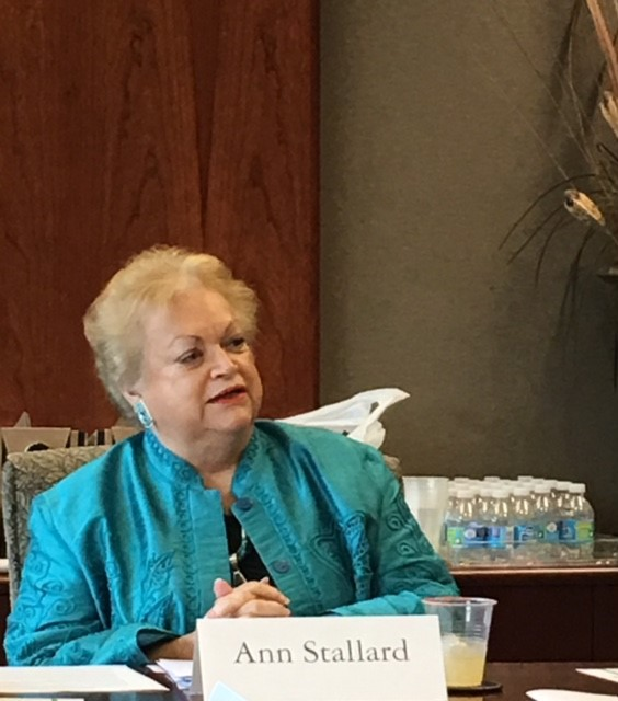Ann Stallard speaks at ACE HPG Spring Luncheon