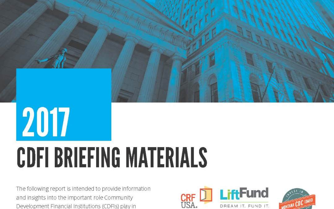2017 CDFI Briefing Materials
