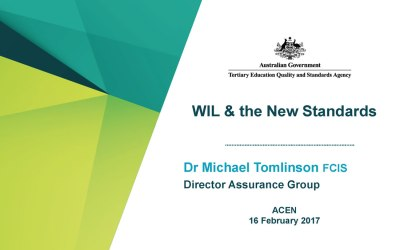 TEQSA Guidance Notes: WIL video