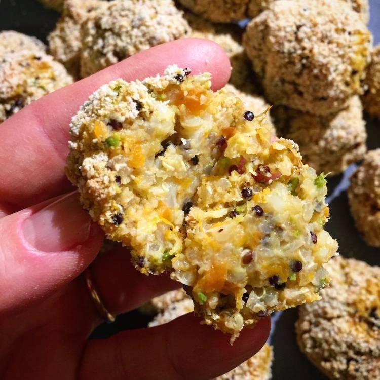 Polpette quinoa e verdure