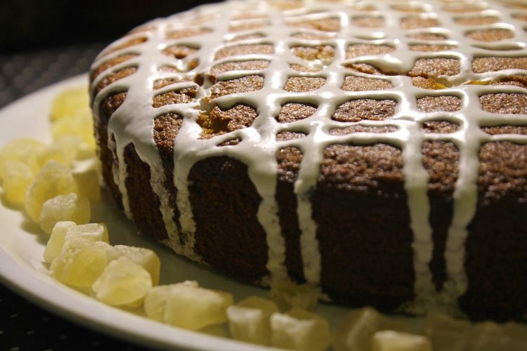 Torta pere e zenzero