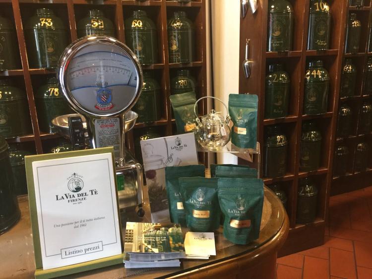 La via del tè a Firenze
