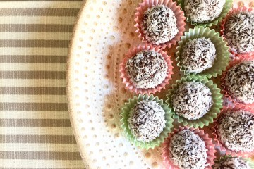 Praline di cioccolato e cocco