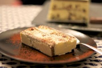 Semifreddo ai wafer al cacao