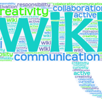 Learning and teaching with a wiki