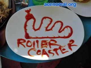 ketchup roller coaster