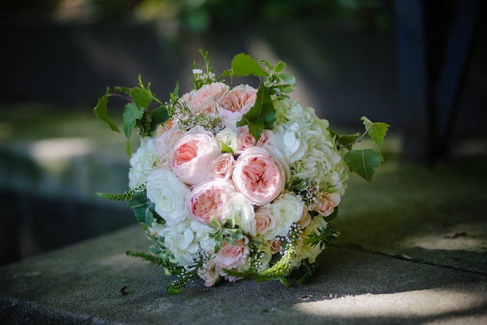 Juliet Garden Rose Bouquet