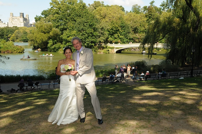 Wagner Cove Wedding In Central Park