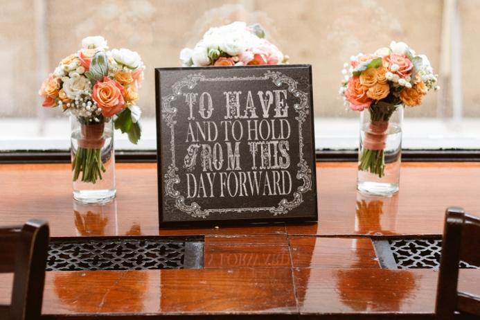 April Wedding At Ladies Pavilion