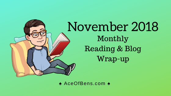 November 2018 Reading and Blog Wrap-Up