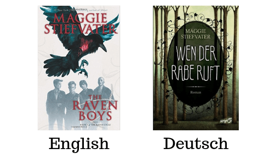 Comparison of The Raven Boys and Wen Der Rabe Ruft