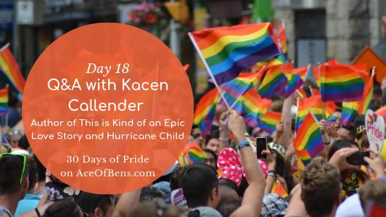 Kacen Callender - 30 Days of PRide