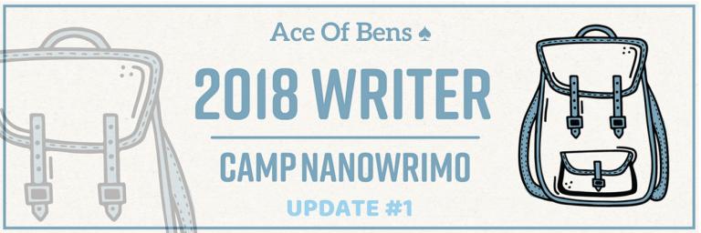 Camp NaNoWriMo Update #13 min read