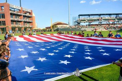 Reno Aces Vs El Paso Chihuahuas, Independence Day Celebration