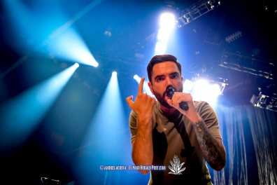 """""""A Day to Remember """" performing at the Don Haskins Center during """"Blink 182 California Tour"""""""