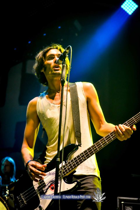 """ All American Rejects"" performing at the Don Haskins Center during its ""Blink 182 California Tour"""