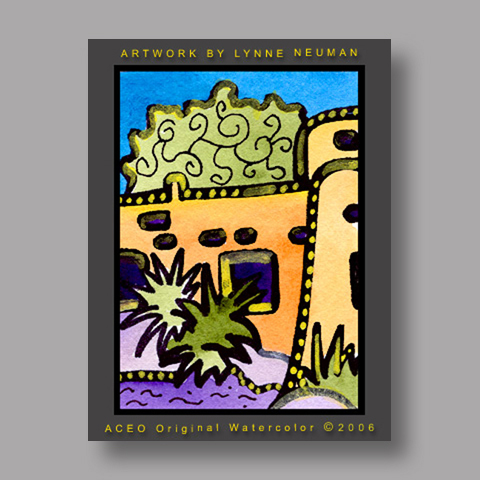 Signed ACEO Print *New Mexico #1210* by Lynne Neuman