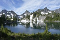 Gem Lake, Chair Peak, and Roosevelt Peak