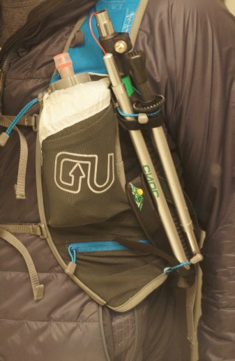 Vertex poles on the U.D. A.K. Mountain Vest