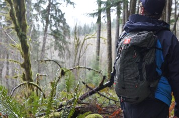 Will running the Rucksack through the Middle Fork Snoqualmie.