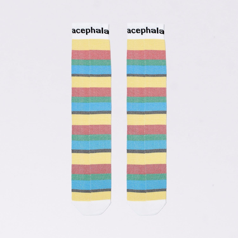 Acs Acessories Pacskshots Striped Socks With Logo