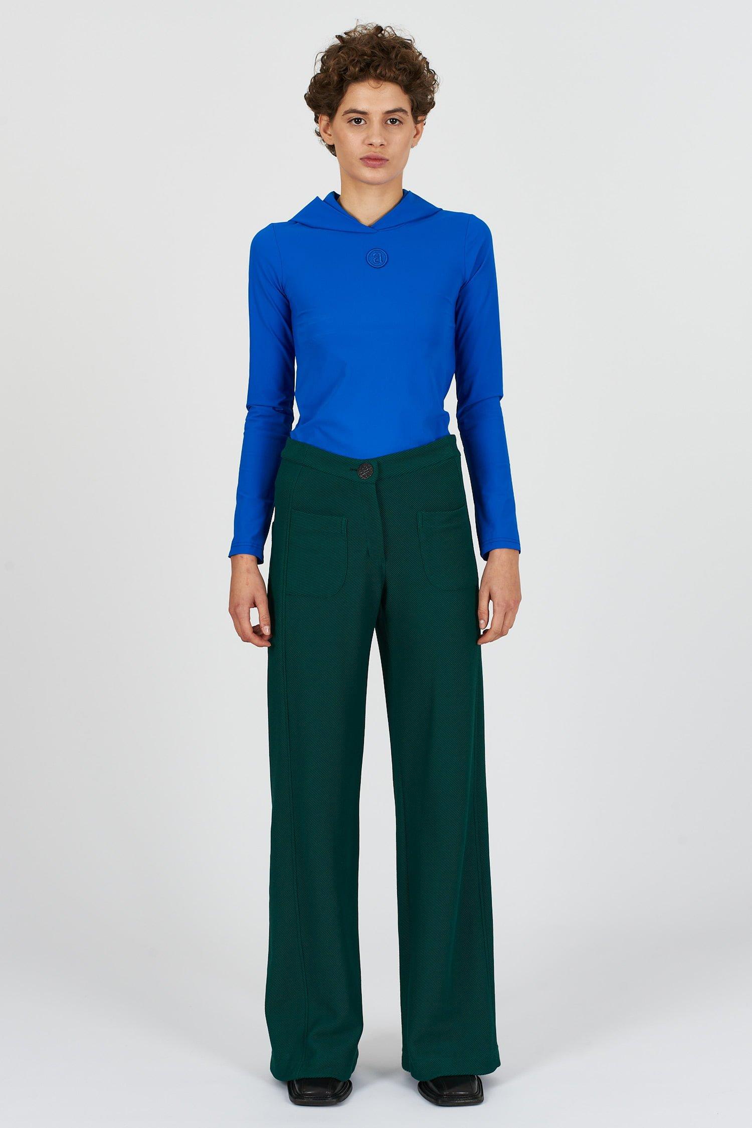 Acephala Fw2021 22 Forest Green Trousers 07