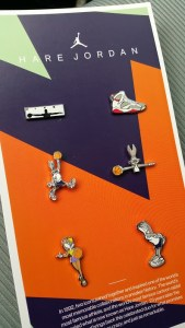 nike hare jordan collectors pins