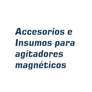 Accesorios e insumos para agitador magnético