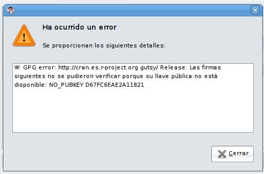 Acerca de... Actualizaciones de R y Ubuntu (2/2)