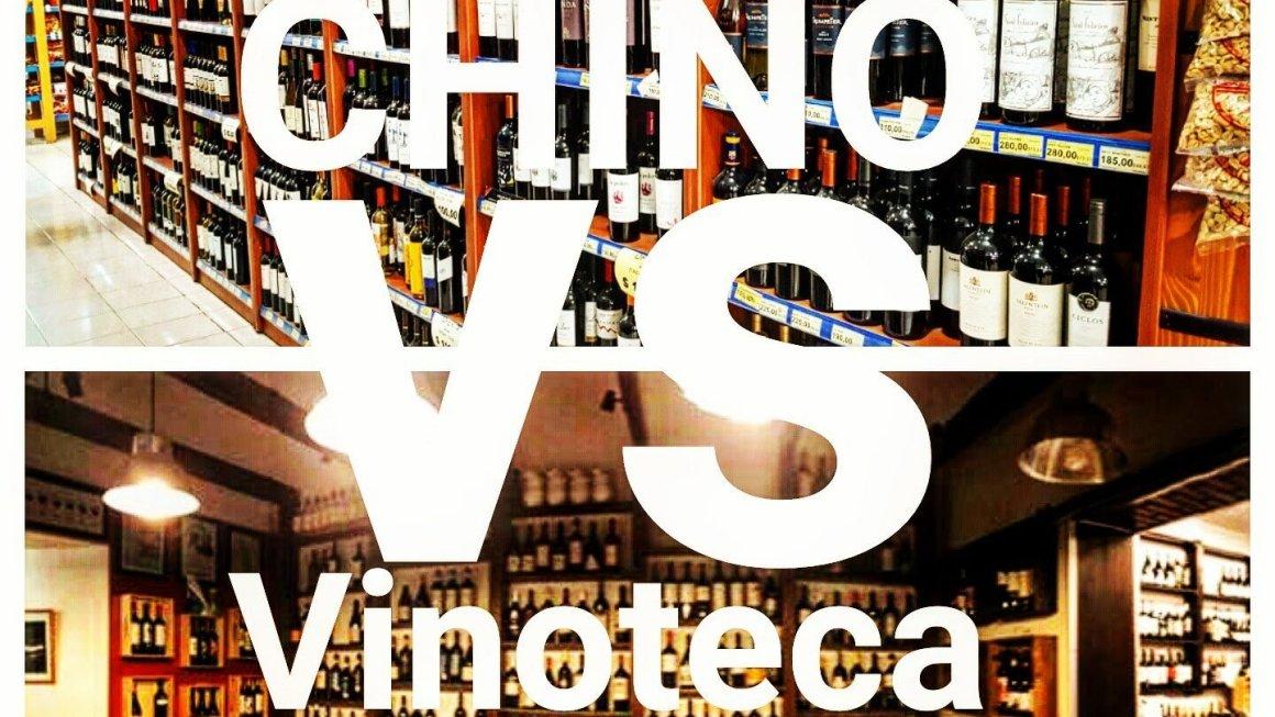 El duelo: Chino versus Vinoteca