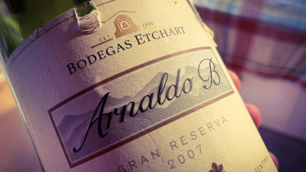 Arnaldo B Gran Reserva 2007 2