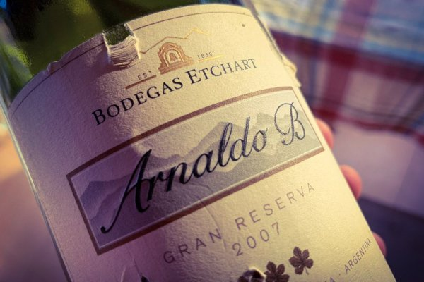Como Dios Manda: Arnaldo B Gran Reserva 2007