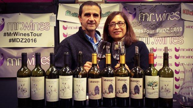 Federico y María del Carmen, de Finca La Coti.