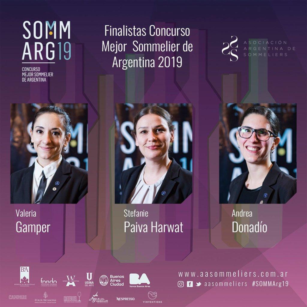 Mejor sommelier argentina 2019
