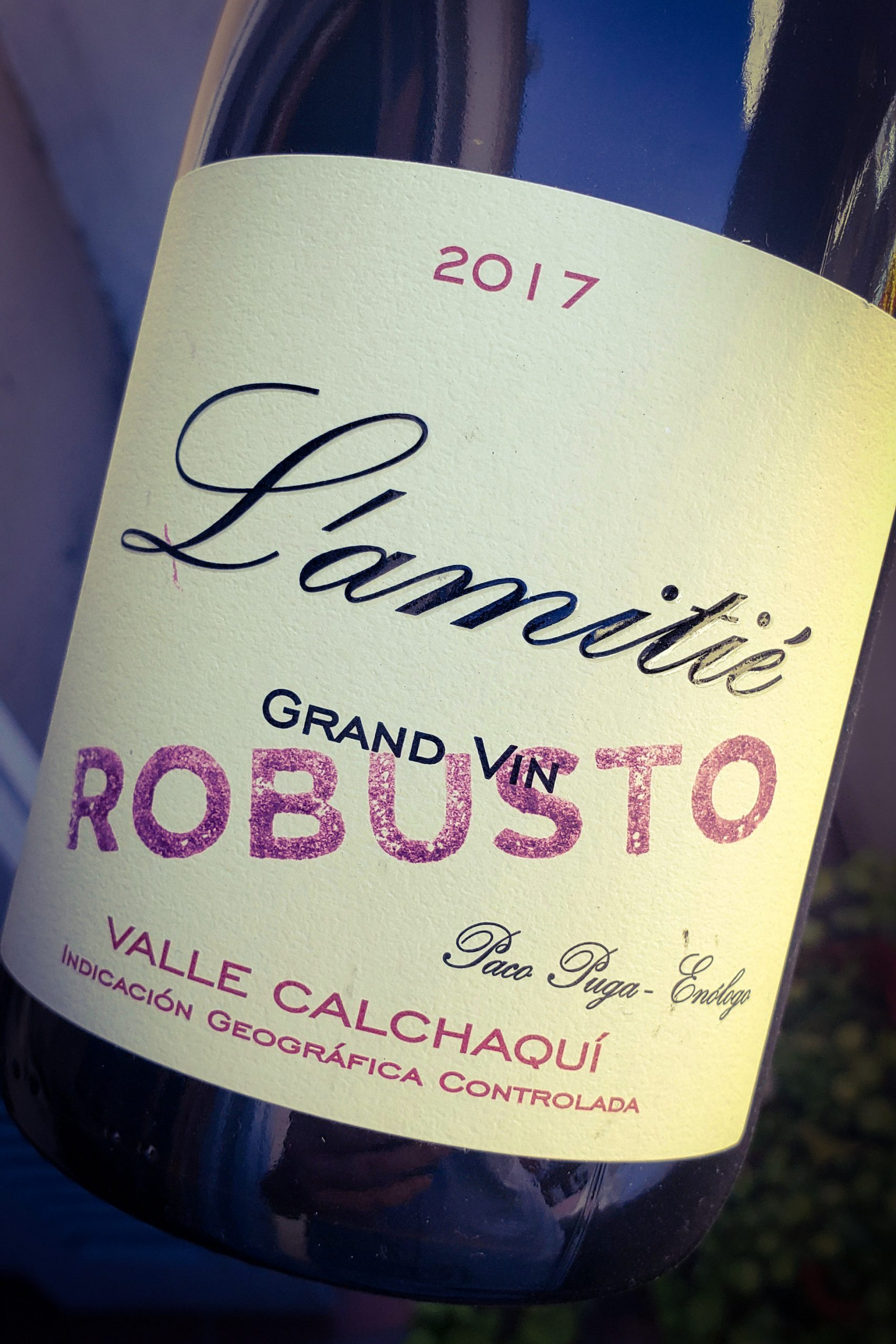 vinos de autor - robusto