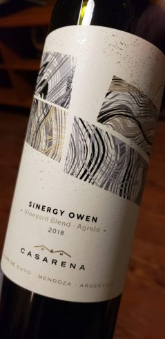 casarena sinergy vineyard blend Owen