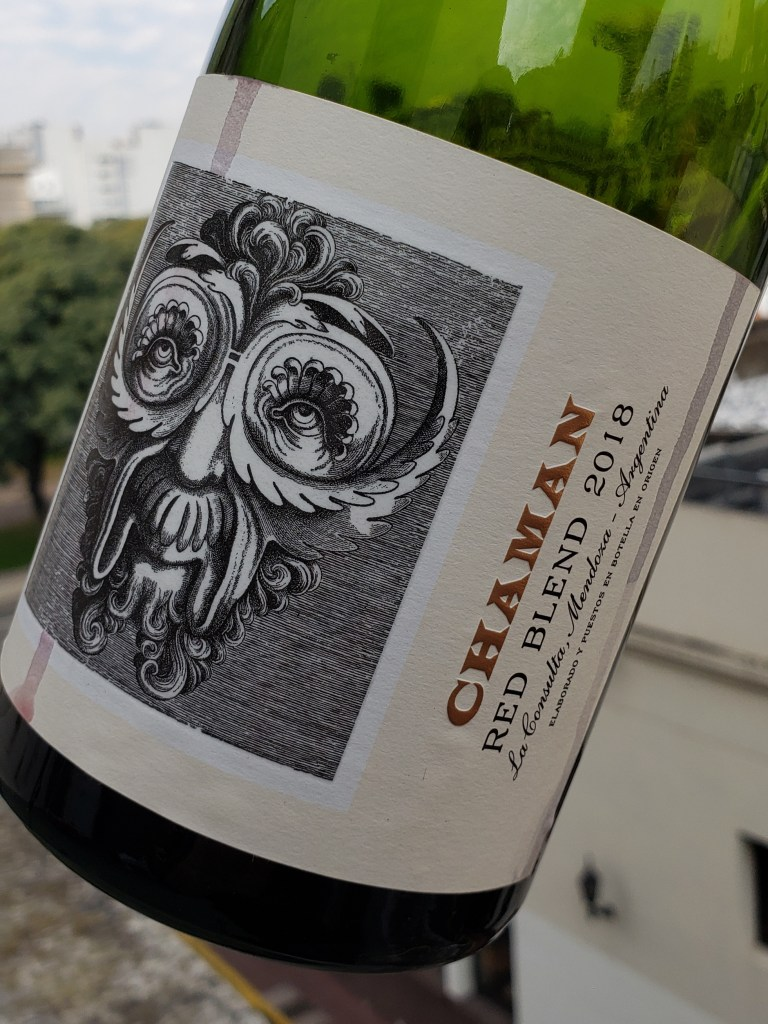 Chaman red blend - vinos de productores amigos