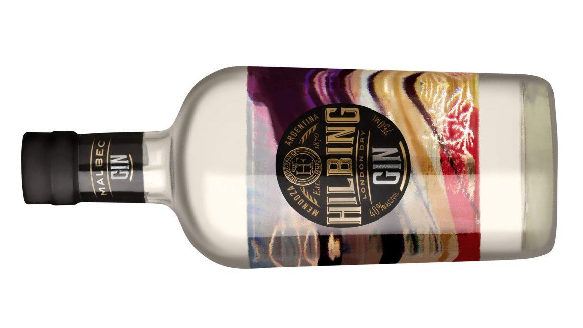 Hilbing Malbec Gin premiado en el Alberta Beverage Awards 2020