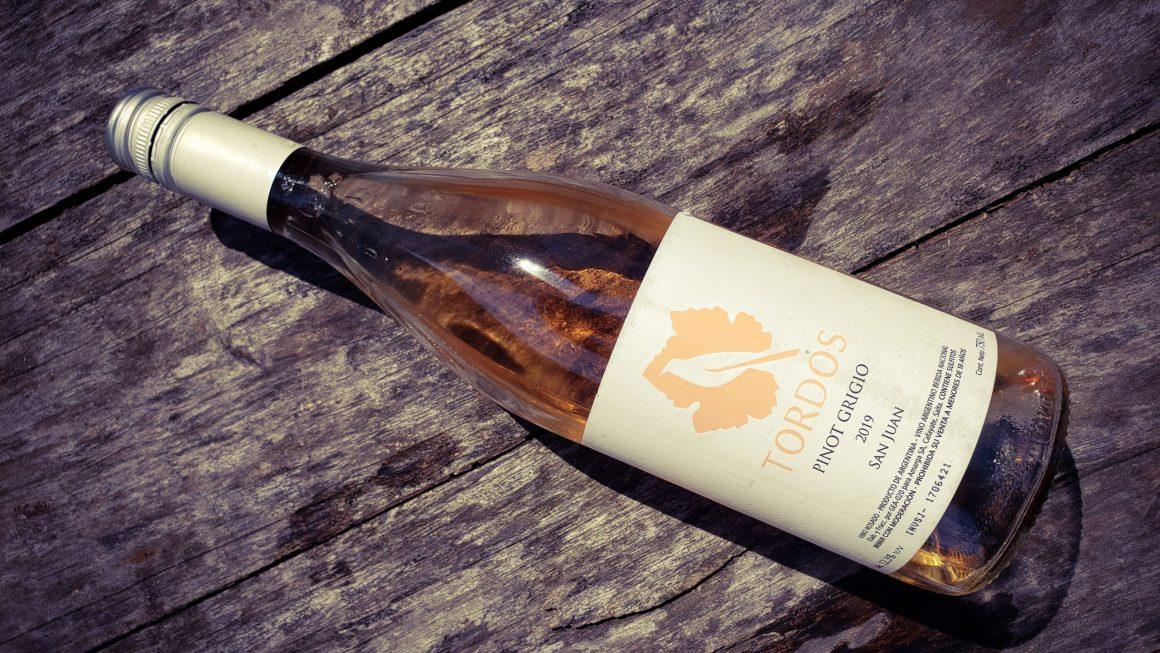 Tordos Pinot Grigio Rosado 2019