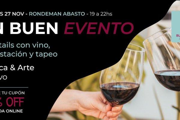 Evento presencial: Buenos Vinos Argentinos