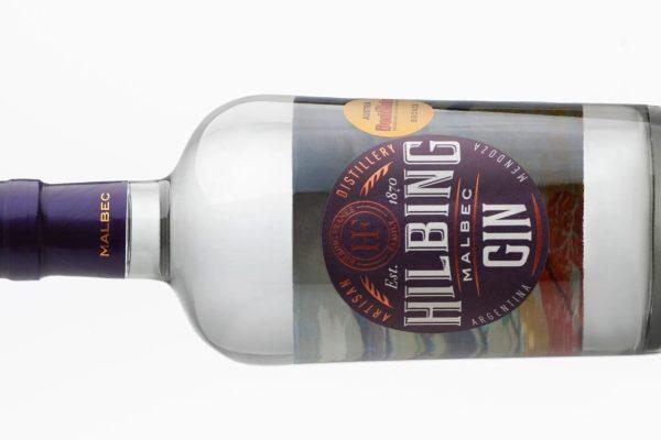 Hilbing Malbec Gin continúa cosechando premios internacionales